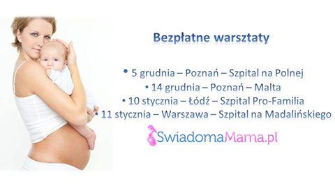 Warsztaty Świadoma Mama w Poznaniu